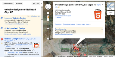 Bullhead City and Las Vegas Website Design